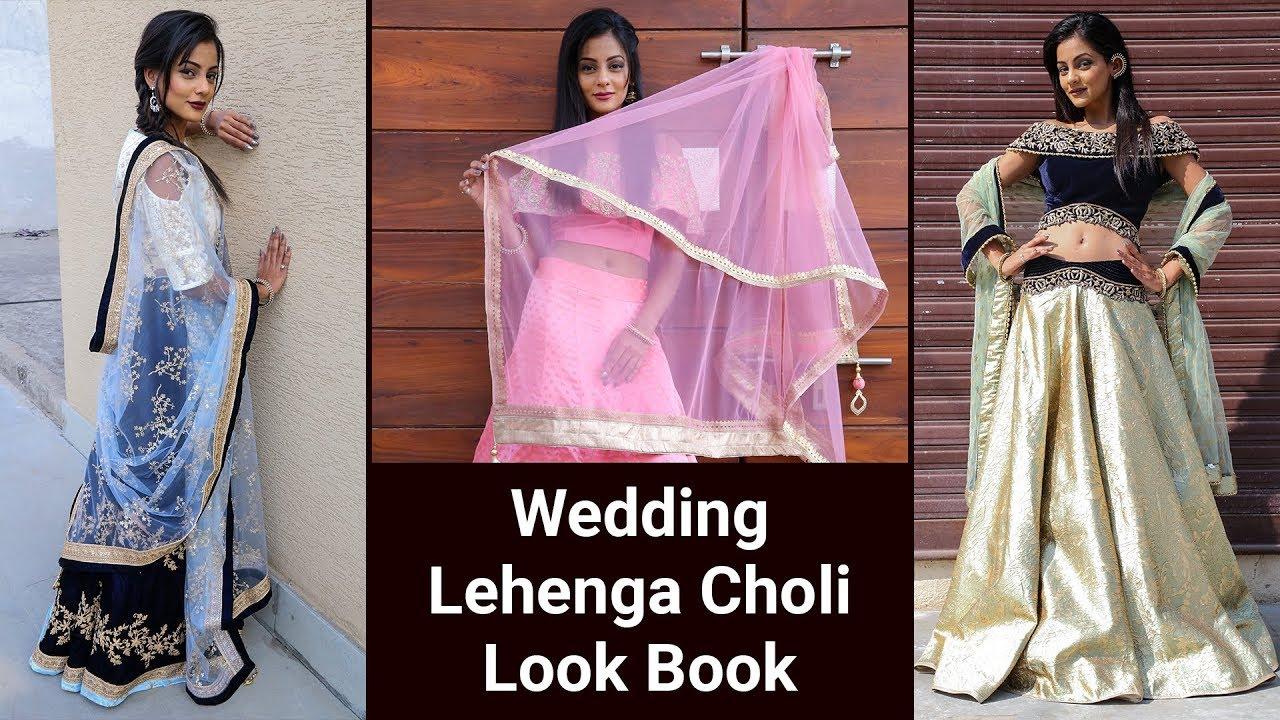 282137bd5f Designer Lehenga Choli Collection   Indian Wedding Lookbook. G3Fashion.com