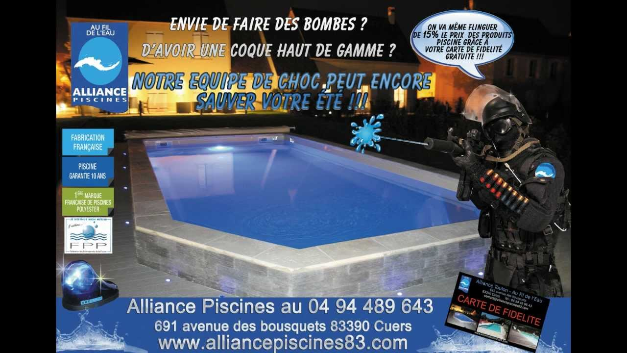 pub alliance piscines police with alliance piscine cuers. Black Bedroom Furniture Sets. Home Design Ideas