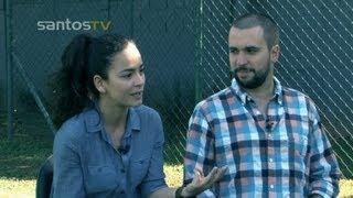 Baixar Alice Braga e Felipe Braga falam com exclusividade à Santos TV