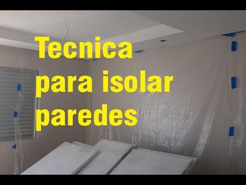 Tecnicas de pintura para isolar paredes youtube - Tecnicas de pintura paredes ...
