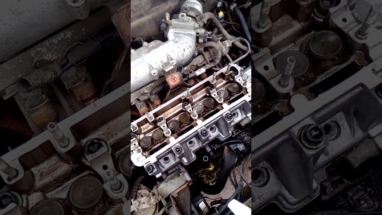 Затяжка головки блока цилиндров на двигателе 2108