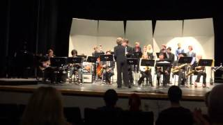 Monarch HS Jazz 3 November 2015 Concert (Aaron