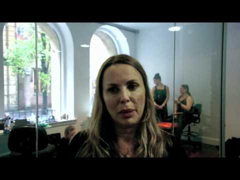 Backstage at Carla Zampatti at RAFW Spring/Summer 2011