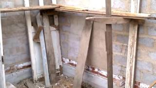 видео Баня из керамзитобетонных блоков