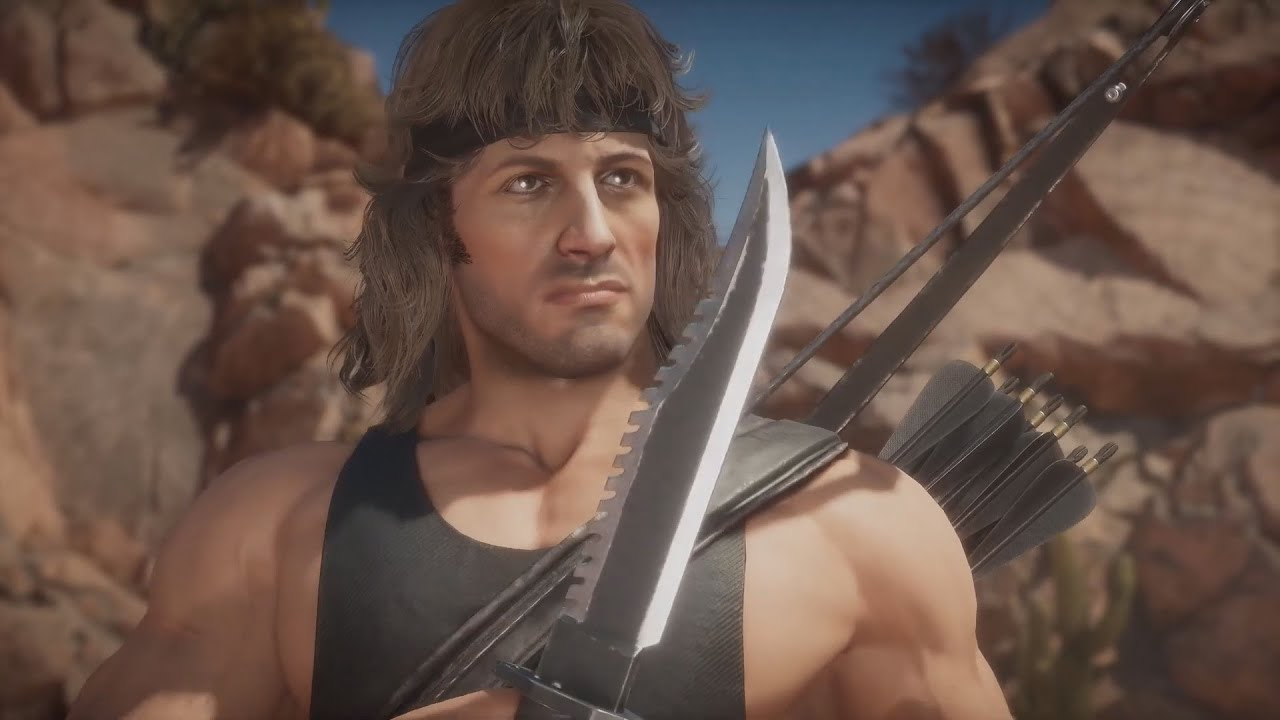 Mortal Kombat 11 Ultimate RAMBO Trailer de Gameplay!!