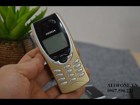 Cổ năm 2002 --Nokia 8210 Đồ Cổ 15 năm vẫn chạy tốt