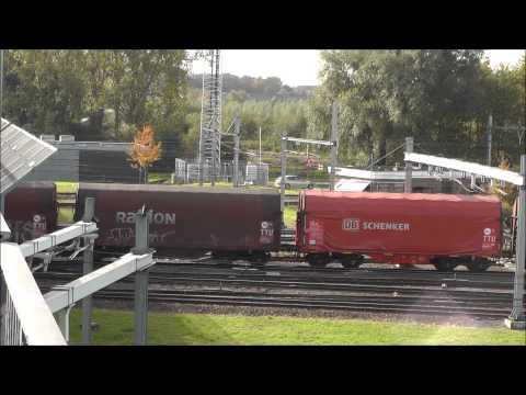 6476, MaK DB BR 264 rangeert op rangeerterrein Kijfhoek, 19-10-2012
