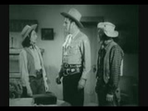 Buster Crabbe Western Movies Gangster's Den 1945 Full Length