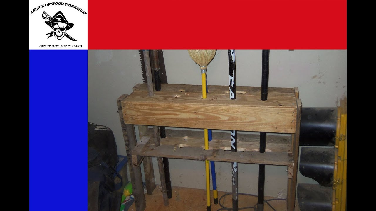 Merveilleux Easy DIY Yard Tool Storage From A Pallet   YouTube