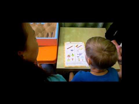 Индивидуальное занятие учителя - дефектолога с родителем и ребенком