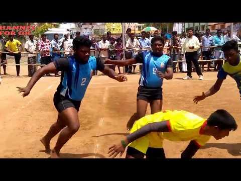 TAMIL KABADDI sentamil sports club (B) VS  SRN blue star kabaddi team