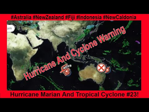 Hurricane Marian And Tropical Cyclone 23 In Play!