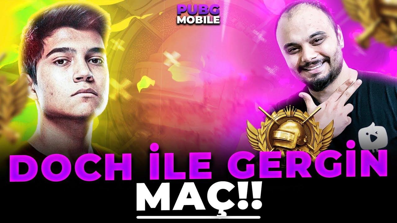 MİRAMARDA GERİLİM DOLU RANK MAÇI !! w/DOCH / PUBG MOBİLE Gameplay