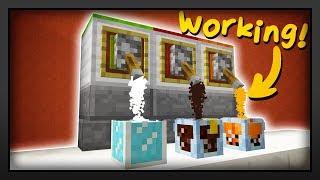 Minecraft - How To Make A Working Soda Machine