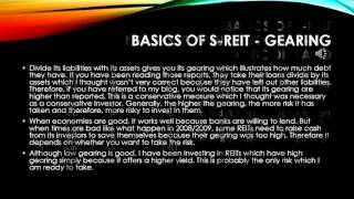 Invest in S REITs and business trusts