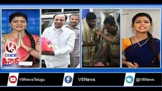 kcr-meets-kerala-cm-contractor-birthday-in-police-station-beer-sales-in-summer-teenmaar-news