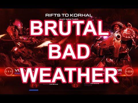 Starcraft 2 Co-op Brutal Mutation: Bad weather [ Vorazun ]