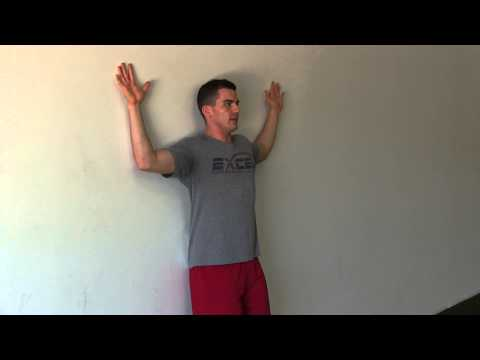 Fix Your Shoulders with Wall Slides Excel Performance Training