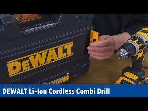 DEWALT Li-Ion Cordless Combi Drill | Screwfix