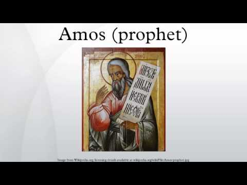 Amos prophet  YouTube