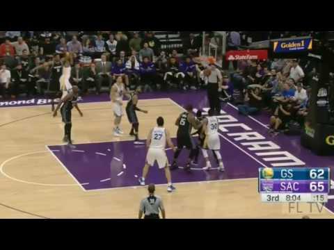 Golden State Warriors vs Sacramento Kings - Full Game Highlights | Jan 8, 2017 | 2016-17 NBA