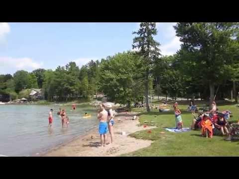Sandy Lake BEACH TOUR Buckhorn Ontario