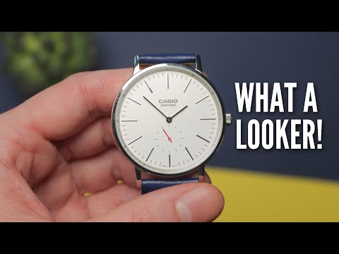 The Daniel Wellington Killer - Casio 'Sapphire' Watch Review (Casio LTP-E148L)