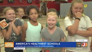 """VIDEO: 18 Mesa schools named to the 2018 list of """"America's Healthiest Schools"""""""