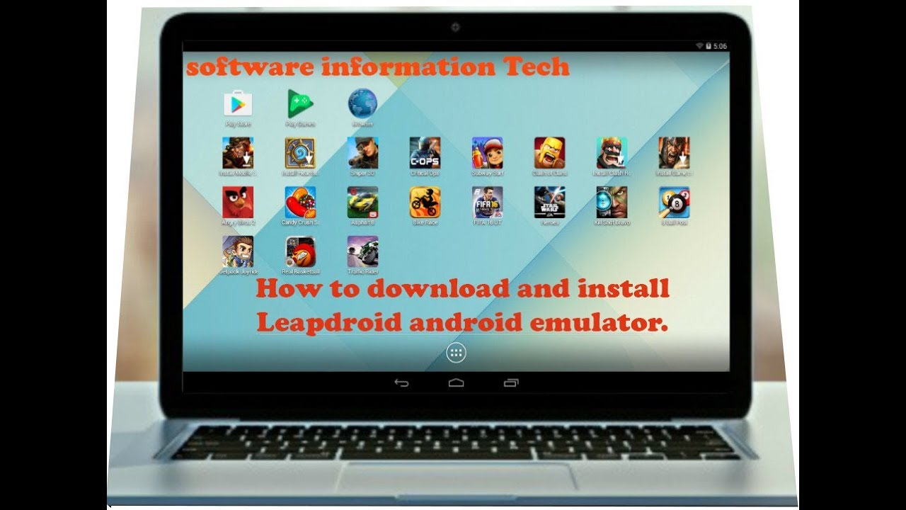 [Tutorial] How to download & install Leapdroid android emulator For PC