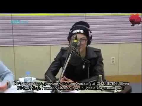140215 - JB 'when I can't sing'