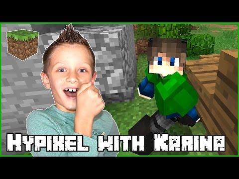 Playing Hypixel With Karina / Minecraft