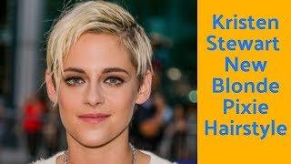 Kristen Stewart Debuts Blond Pixie Cut At Toronto Film Festival