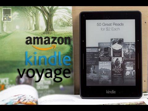 Amazon Kindle Voyage - обзор электронной книги от сайта Keddr.com