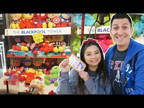 £20 Arcade Claw Machine Challenge!
