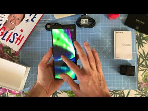 Unboxing The SONY Xperia 10 PLUS With Sailfish OS // Jolla-Devices