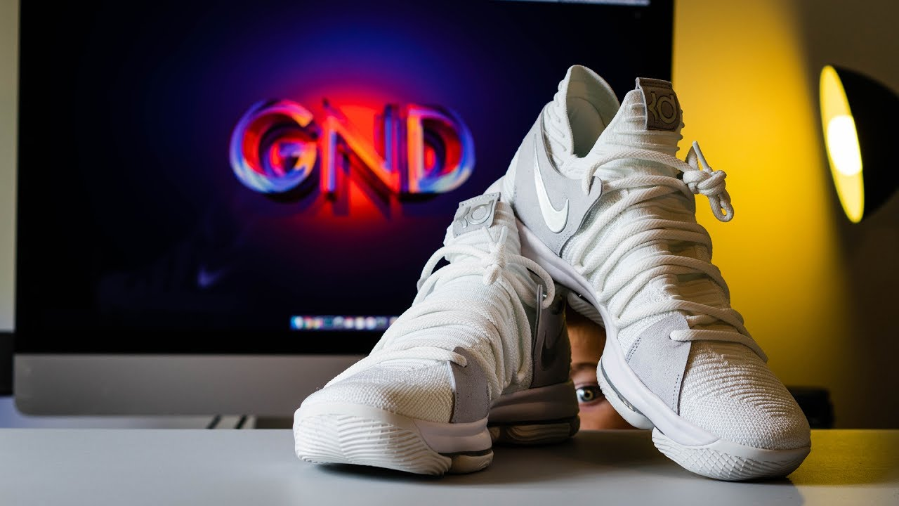 55ab52ee1fd9 KD 10 (Pure Platinum)- First Look and on Feet - YouTube