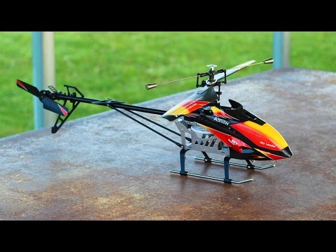 WLtoys V913 RC Helicopter - A REALISTIC Review - TheRcSaylors