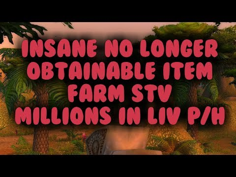 Obtain Millions in Looted item value from STV in 1 hour