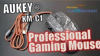 Aukey Professional Game Mouse KM-C1 - Test - Hands-on (Deutsch)