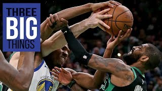 Gambar cover 3 Big Things: Durant leads Warriors over Celtics