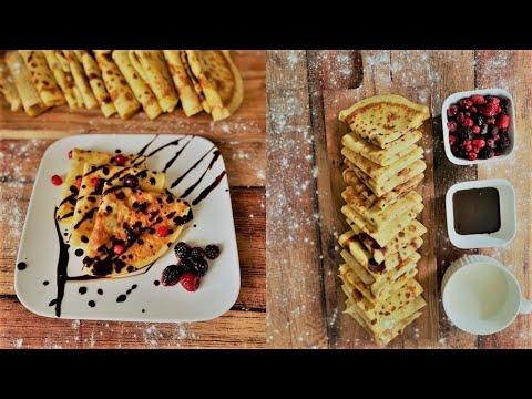 فطائر-سريعة-سهلة-|-recette-inratable-de-crêpes-|-french-pancakes-easy-and-quick-recipe