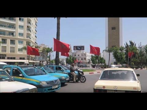 من حي إيبريا الى حي الادريسية طنجة 30 07 2016 tangier morocco