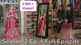 Non Indian bride facing Lehenga challenges, Nazranaa Diaries Season 2 Episode 1 Full Episode  Jamie