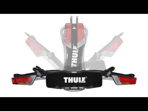Bike Carrier Towbar - Thule EasyFold with Thule AcuTight knobs