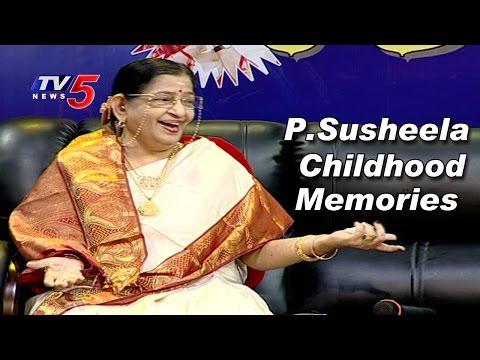 P Susheela Remembers her Childhood Memories | TV5 News