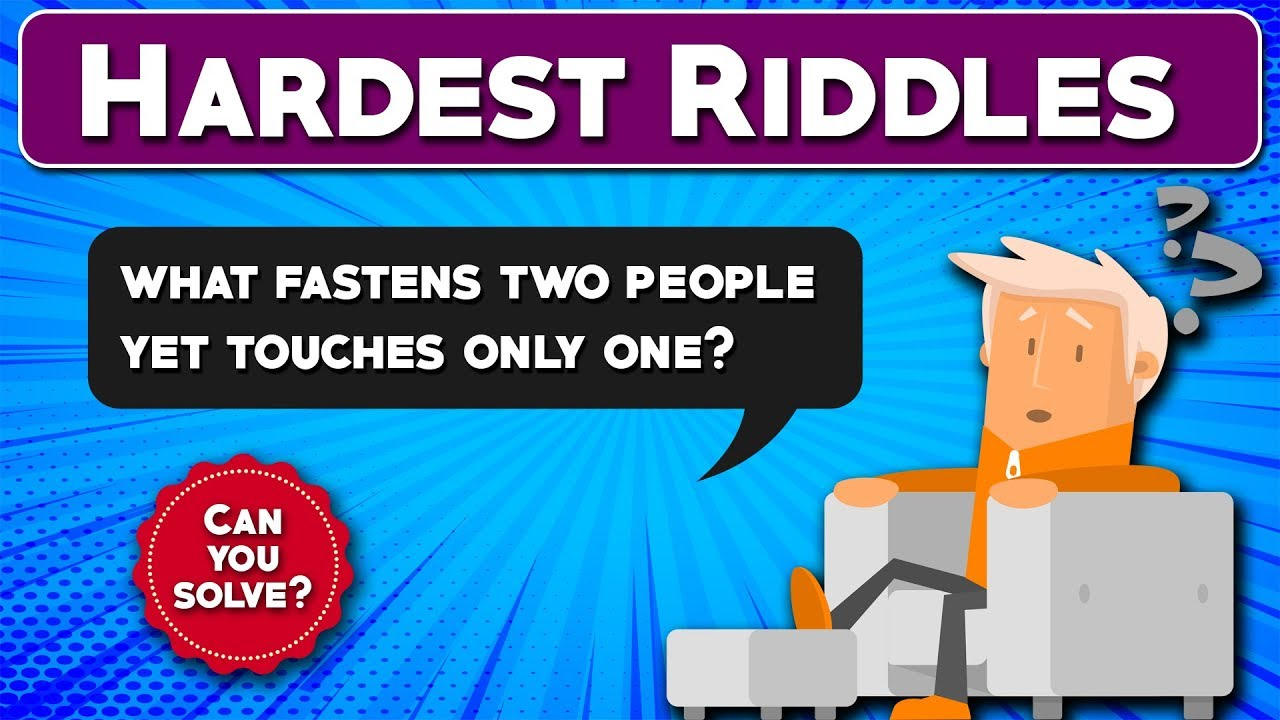 Hardest Riddles Ever || Can you solve them? || Riddle #3