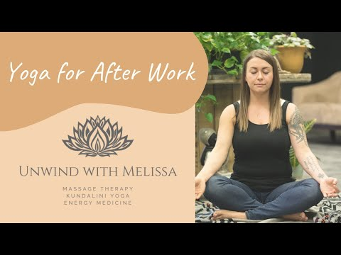 Yoga to Do After Work - Relaxing Routine ~ PM Yoga