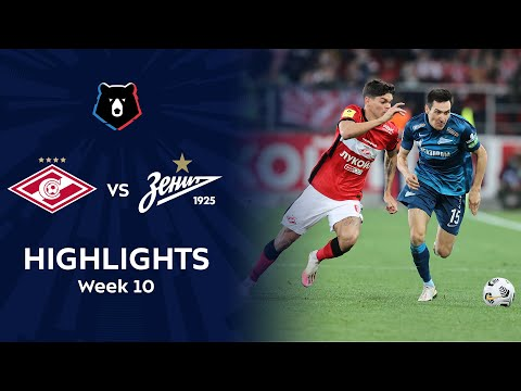 Spartak Moscow Zenit Petersburg Goals And Highlights