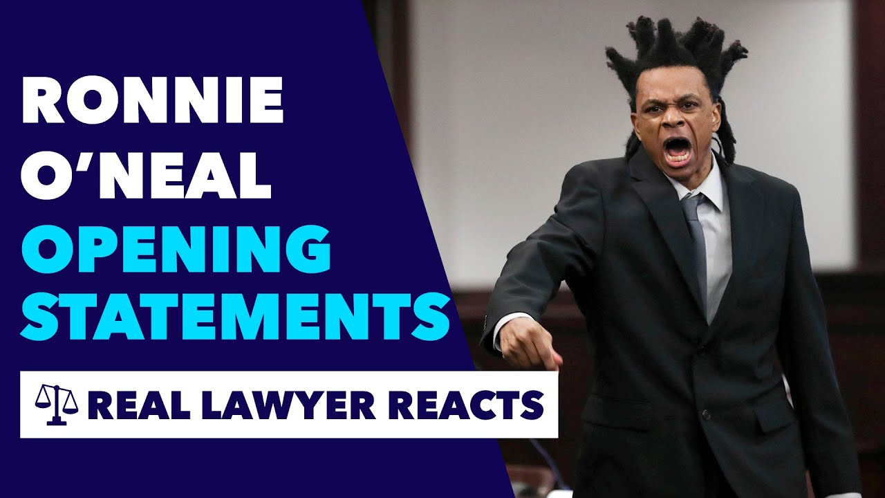 Ronnie O'Neil Still Yelling In Closing Arguments Has Been Found Him Guilty On All Charges  [VIDEO]