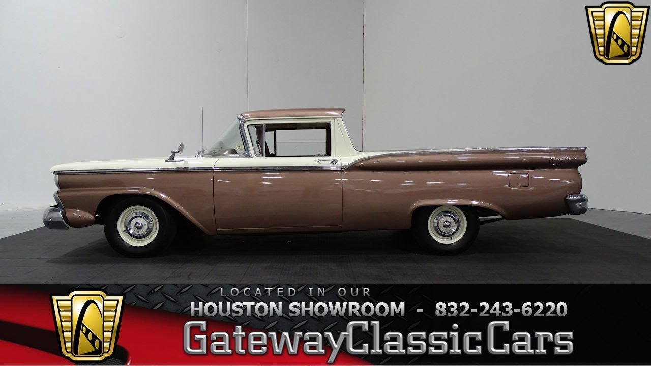 medium resolution of 1959 ford ranchero gateway classic cars stock 900 houston showroom
